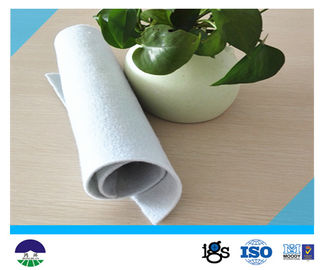 China PET Short Fiber Needle-punched non-woven Geotextiles 337GSM supplier