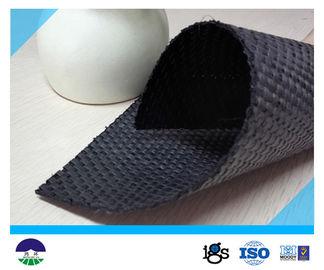 China 448G Polypropylene Woven Geotextile Fabric 92KN / 68KN distributor