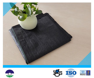 China Recycled PP / Virgin PP Material Woven Geotextile Fabric For Separation 580g distributor