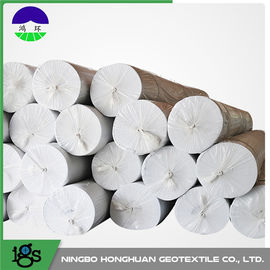 China Non Woven Geotextile Filter Fabric For Lake Dike , High Permeability distributor