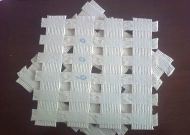 China White High Tensile Strength Polyester Geogrid for Retaining Wall distributor