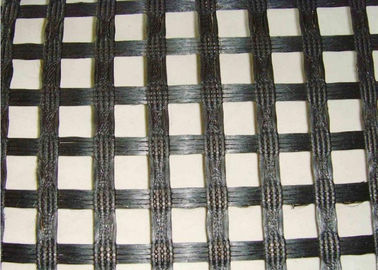 China Durable 50KNM Polyester Geogrid with High Strength for Dike Slope distributor
